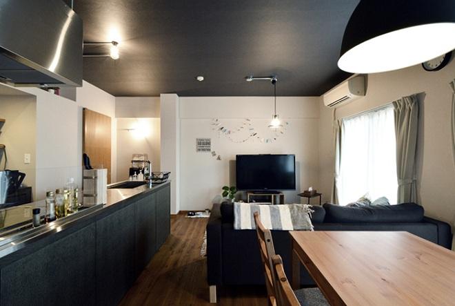 「リノべる。」のリノベーション事例「家の中にも遊び場を 生活を豊かにするロフト&階段スペース」