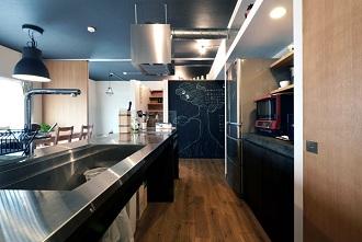 キッチン、ロフト