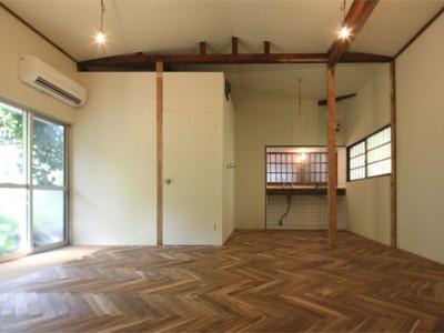 「ルーヴィス」の戸建リノベーション(賃貸)事例「浅間台の平屋」