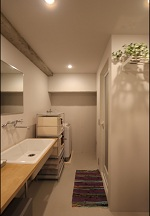 バスルーム、洗面コーナー