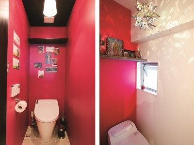 「リノベの最新情報」の「《リノベのトレンドvol.1 》トイレは派手に、大胆に!?」