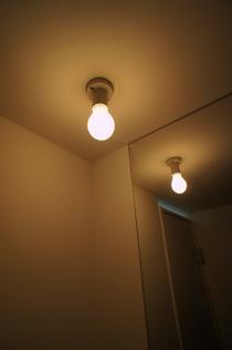 シンプルなレセップ球照明