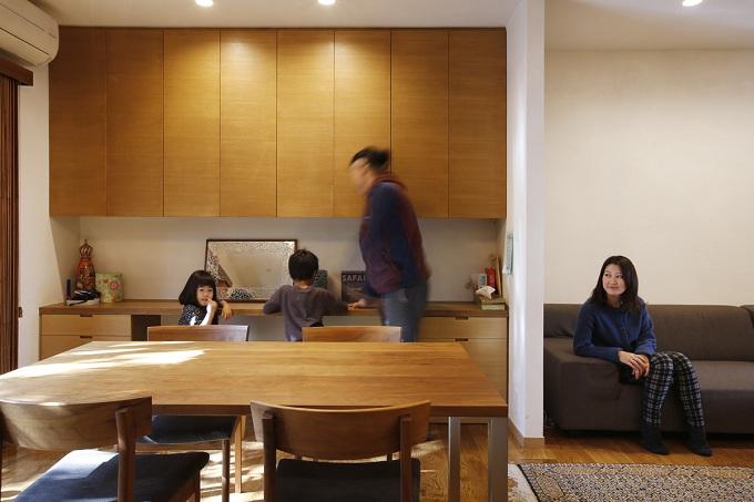 「株式会社エキップ」のリノベーション事例「空き家になった実家の二世帯住宅の一世帯をフルリノベーション」
