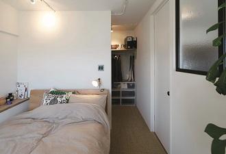 リノベる、寝室、ベッドルーム