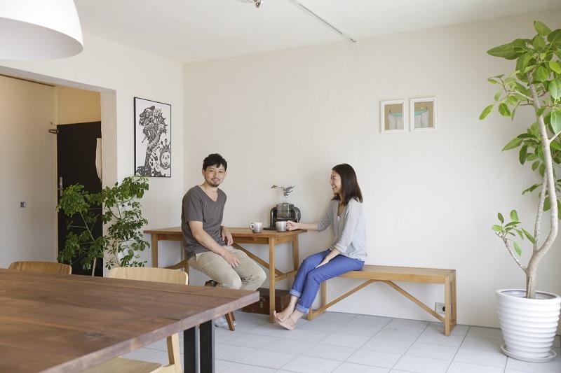 「株式会社リビタ」のリノベーション事例「安心して暮らせる家に手を入れながら住まう」