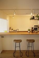 キッチン、カウンター