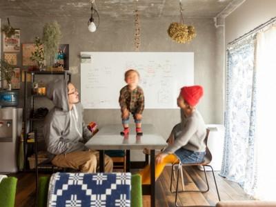 「EcoDeco」のマンションリノベーション事例「家を育てるリノベーション 好きなものに囲まれた暮らし」