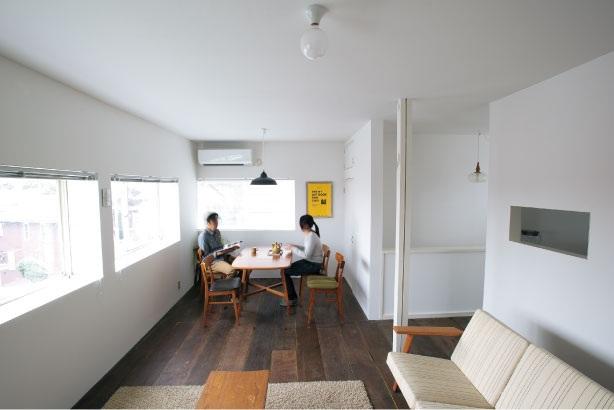 「ルーヴィス」のリノベーション事例「築25年。いい材料で丁寧につくられた 和洋折衷な家を住み継ぐ暮らし」