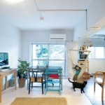 「ルーヴィス」の「築52年の公団住宅を最小限の工事で コンパクトにリノベーション」