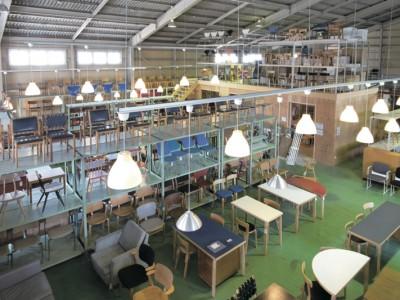 「リノベの最新情報」の「【北欧家具talo】数百点の北欧家具に、一度に出会えるウェアハウス」