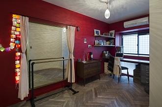 洋室、趣味部屋