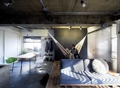 「SHUKEN 株式会社秀建」のその他のリノベーション事例「ハンモックで過ごす休日~長く使いこまれた新しい空間~」
