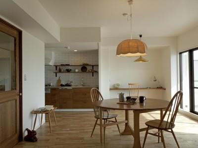 「株式会社デン・プラスエッグ」のマンションリノベーション事例「料理と子育てを楽しむ家」