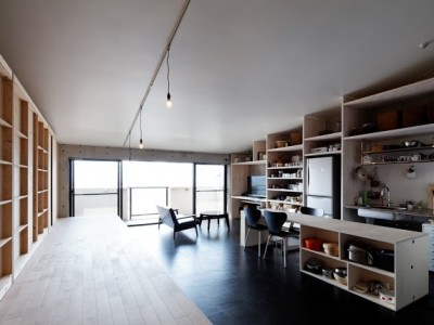 「H2DO一級建築士事務所」のマンションリノベーション事例「勾配屋根の家」