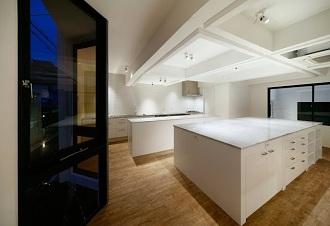 キッチン、趣味部屋