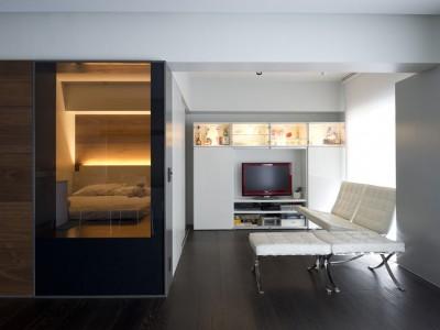 「EcoDeco」のリノベーション事例「イギリスで体験したリノベによる快適な暮らしを日本の団地で実現」