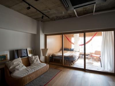 「東京リノベ」のリノベーション事例「定番マンションを自分スタイルの空間に変える」
