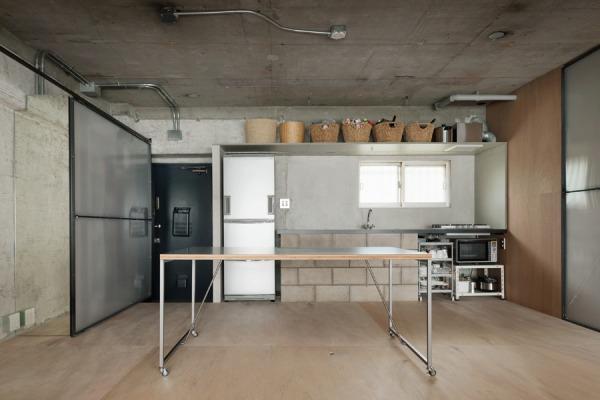 「東京リノベ」のリノベーション事例「一般的な概念を取り払った、素朴でタフな空間。R506@駒場」