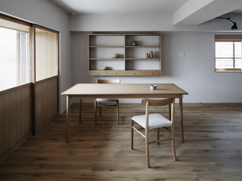 「青木律典 | 株式会社デザインライフ設計室」のリノベーション事例「「ウチソトの間合」」