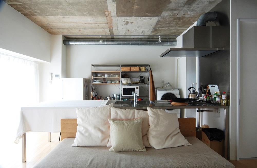 「Re-CRAFT」のリノベーション事例「1LDKにリフォーム済みのマンションをさらに開放的なワンルームに!」