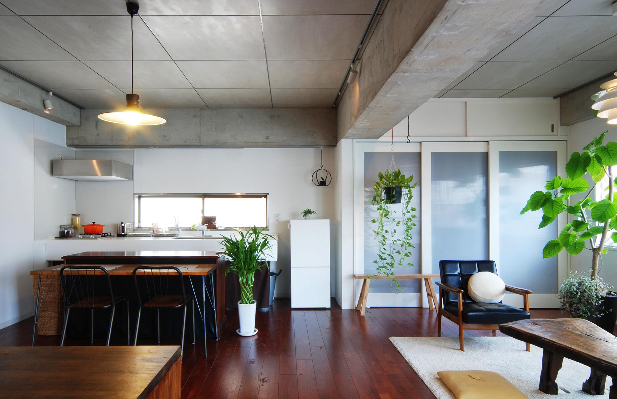 「Re-CRAFT」のリノベーション事例「ホームパーティを楽しむオープンな空間」