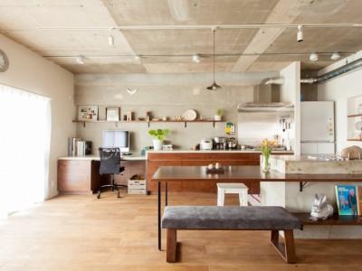 「EcoDeco」のリノベーション事例「団地リノベーション!休日は家でボルダリング アウトドアを楽しむ家」