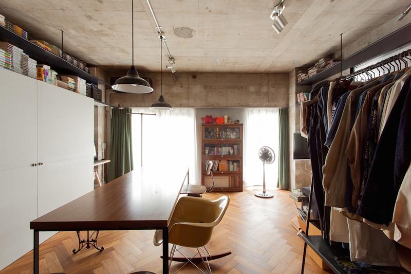 「EcoDeco」のリノベーション事例「自分達らしい暮らしを求めて郊外から渋谷区へ ペットと暮らすワンルーム」