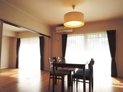 「M2.F」のリノベーション事例「住み慣れた自宅マンションをリノベ。 収納を増やした結果、より住みやすく!」