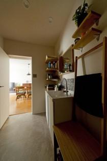 ハコリノベ、サンリフォーム、、広い洗面室、サニタリー