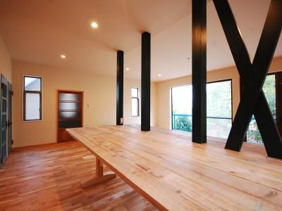 「G-FLAT株式会社」のリノベーション事例「芦屋と神戸の夜景が一望。築古戸建リノベーション」