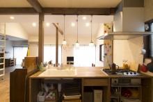 DIY、キッチンカウンター、スタイル工房