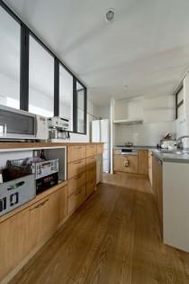 キッチン、オープンキッチン、収納、便利、グラデン