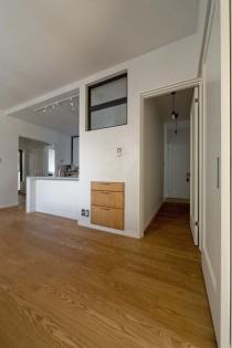 収納、ダイニング、ウッディな床、便利、グラデン