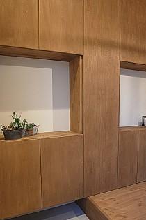 シューズボックス、玄関、収納、造作家具、ロクサ株式会社