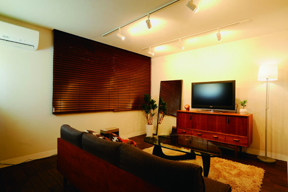 「One's Life ホーム」のリノベーション事例「ミッドセンチュリーの家具に合わせた、60's Style提案」