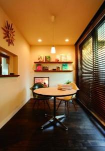 自然光、ダイニング、キッチン小窓、すむ図鑑