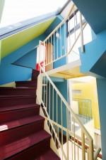 ガラス天井、階段、すむ図鑑