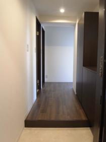 玄関、廊下、収納、ガラスブロック、ロクサ、rokusa