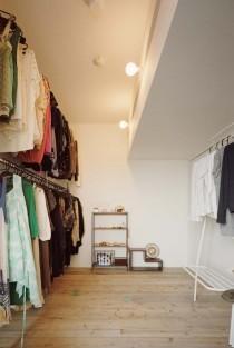 石井大吾デザイン室一級建築士事務所、建築家のリノベーション、ウォークインクローゼット、衣装部屋