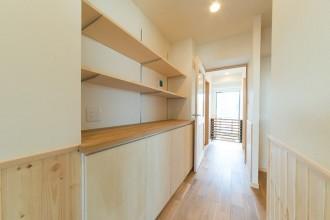 収納スペース、玄関、廊下、自然素材、ナチュラル、Beat HOUSE