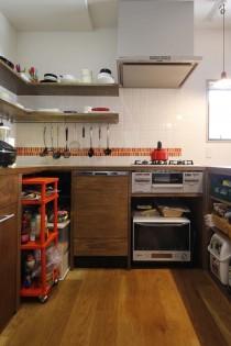 L字型、キッチン、オープン、スタイル工房