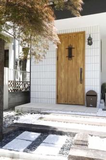タイル、玄関、アプローチ、スタイル工房