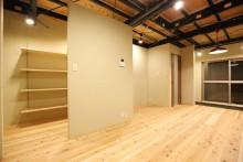 フローリング、ワークスペース、仕事場、国産材、杉材、空間工房、KULABO