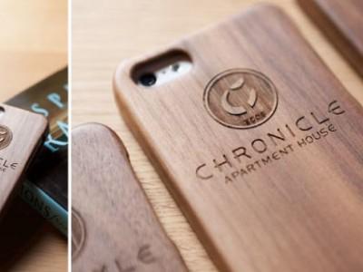 「リノベの最新情報」の「天然無垢材製のiPhoneケースプレゼント!」