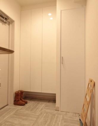 玄関、収納、靴箱、リノステージ