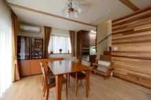 床材、タモ材、無垢、床暖房、すむ図鑑