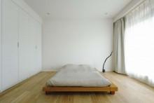 寝室、ベッドルーム、ローベッド、すむ図鑑