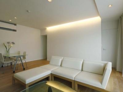 「One's Life ホーム」のリノベーション事例「素材とプロポーションにこだわる家。昼夜で表情が変わる」