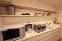 キッチン収納、I型、リノステージ
