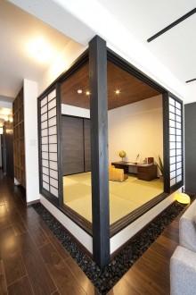 ゲストルーム、和室、畳、小上がり、ベツダイ、RE住む